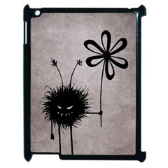 Evil Flower Bug Vintage Apple iPad 2 Case (Black)