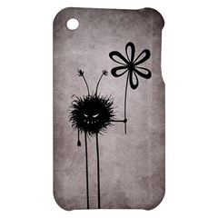 Evil Flower Bug Vintage Apple iPhone 3G/3GS Hardshell Case