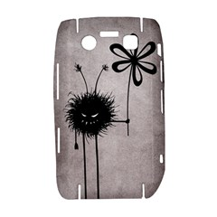 Evil Flower Bug Vintage BlackBerry Bold 9700 Hardshell Case