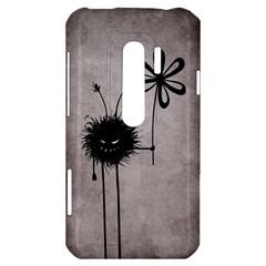Evil Flower Bug Vintage HTC Evo 3D Hardshell Case