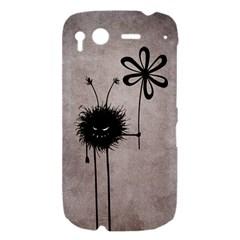 Evil Flower Bug Vintage HTC Desire S Hardshell Case