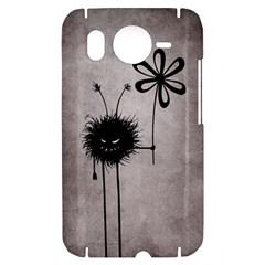 Evil Flower Bug Vintage HTC Desire HD Hardshell Case