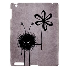 Evil Flower Bug Vintage Apple iPad 3/4 Hardshell Case