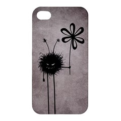 Evil Flower Bug Vintage Apple iPhone 4/4S Premium Hardshell Case