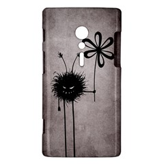 Evil Flower Bug Vintage Sony Xperia ion Hardshell Case