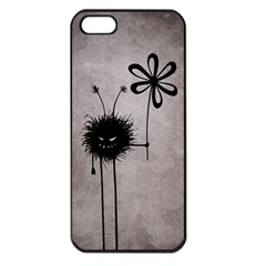 Evil Flower Bug Vintage Apple iPhone 5 Seamless Case (Black)