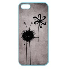 Evil Flower Bug Vintage Apple Seamless iPhone 5 Case (Color)