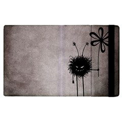 Evil Flower Bug Vintage Apple iPad 2 Flip Case