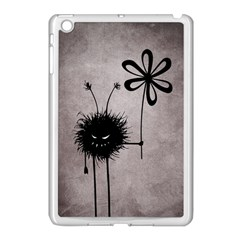 Evil Flower Bug Vintage Apple iPad Mini Case (White)