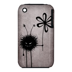 Evil Flower Bug Vintage Apple Iphone 3g/3gs Hardshell Case (pc+silicone)