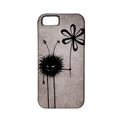 Evil Flower Bug Vintage Apple Iphone 5 Classic Hardshell Case (pc+silicone)