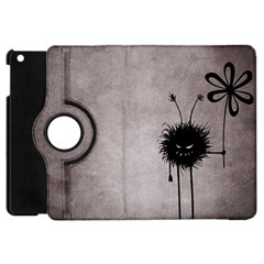 Evil Flower Bug Vintage Apple Ipad Mini Flip 360 Case
