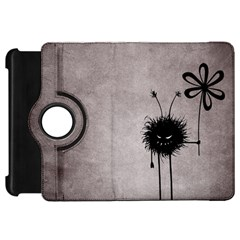Evil Flower Bug Vintage Kindle Fire Hd 7  (1st Gen) Flip 360 Case