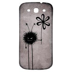 Evil Flower Bug Vintage Samsung Galaxy S3 S Iii Classic Hardshell Back Case