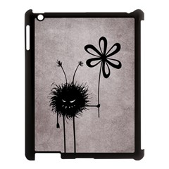 Evil Flower Bug Vintage Apple iPad 3/4 Case (Black)