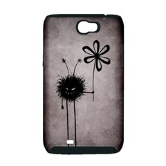 Evil Flower Bug Vintage Samsung Galaxy Note 2 Hardshell Case (PC+Silicone)