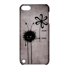 Evil Flower Bug Vintage Apple Ipod Touch 5 Hardshell Case With Stand