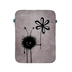 Evil Flower Bug Vintage Apple iPad Protective Sleeve