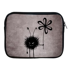 Evil Flower Bug Vintage Apple Ipad Zippered Sleeve