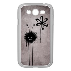 Evil Flower Bug Vintage Samsung Galaxy Grand Duos I9082 Case (white)