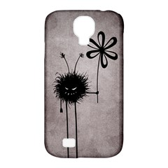 Evil Flower Bug Vintage Samsung Galaxy S4 Classic Hardshell Case (pc+silicone)