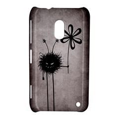 Evil Flower Bug Vintage Nokia Lumia 620 Hardshell Case