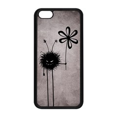 Evil Flower Bug Vintage Apple Iphone 5c Seamless Case (black)