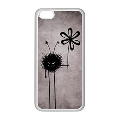 Evil Flower Bug Vintage Apple iPhone 5C Seamless Case (White)