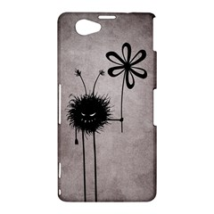 Evil Flower Bug Vintage Sony Xperia Z1 Compact Hardshell Case