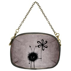 Evil Flower Bug Vintage Chain Purse (One Side)