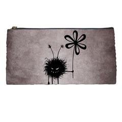 Evil Flower Bug Vintage Pencil Case