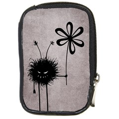 Evil Flower Bug Vintage Compact Camera Leather Case