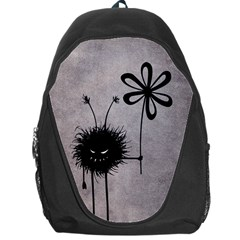 Evil Flower Bug Vintage Backpack Bag
