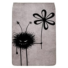 Evil Flower Bug Vintage Removable Flap Cover (Small)