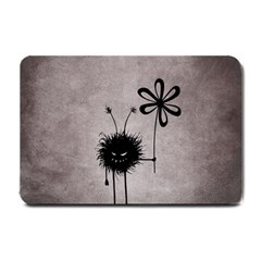 Evil Flower Bug Vintage Small Door Mat