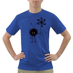 Evil Flower Bug Men s T-shirt (Colored)