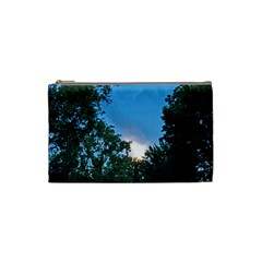 Coming Sunset Accented Edges Cosmetic Bag (small)