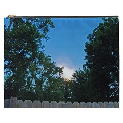 Coming Sunset Accented Edges Cosmetic Bag (XXXL)