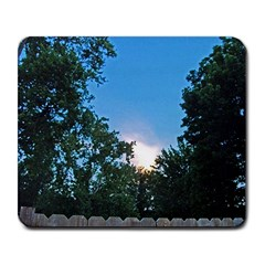 Coming Sunset Accented Edges Large Mouse Pad (rectangle)
