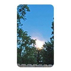 Coming Sunset Accented Edges Memory Card Reader (rectangular)