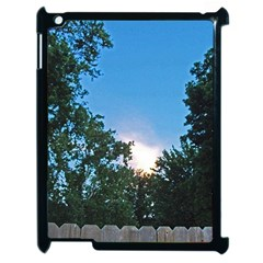 Coming Sunset Accented Edges Apple Ipad 2 Case (black)