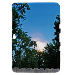 Coming Sunset Accented Edges Samsung Galaxy Tab 8.9  P7300 Hardshell Case