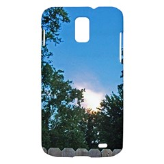 Coming Sunset Accented Edges Samsung Galaxy S II Skyrocket Hardshell Case