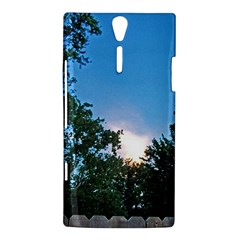 Coming Sunset Accented Edges Sony Xperia S Hardshell Case