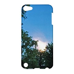Coming Sunset Accented Edges Apple iPod Touch 5 Hardshell Case