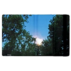 Coming Sunset Accented Edges Apple iPad 2 Flip Case