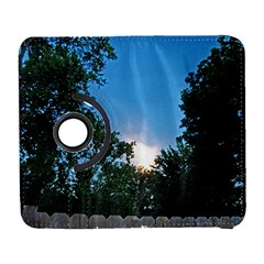 Coming Sunset Accented Edges Samsung Galaxy S  Iii Flip 360 Case