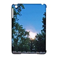Coming Sunset Accented Edges Apple iPad Mini Hardshell Case (Compatible with Smart Cover)