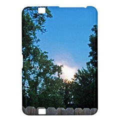 Coming Sunset Accented Edges Kindle Fire HD 8.9  Hardshell Case