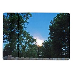 Coming Sunset Accented Edges Samsung Galaxy Tab 10 1  P7500 Flip Case
